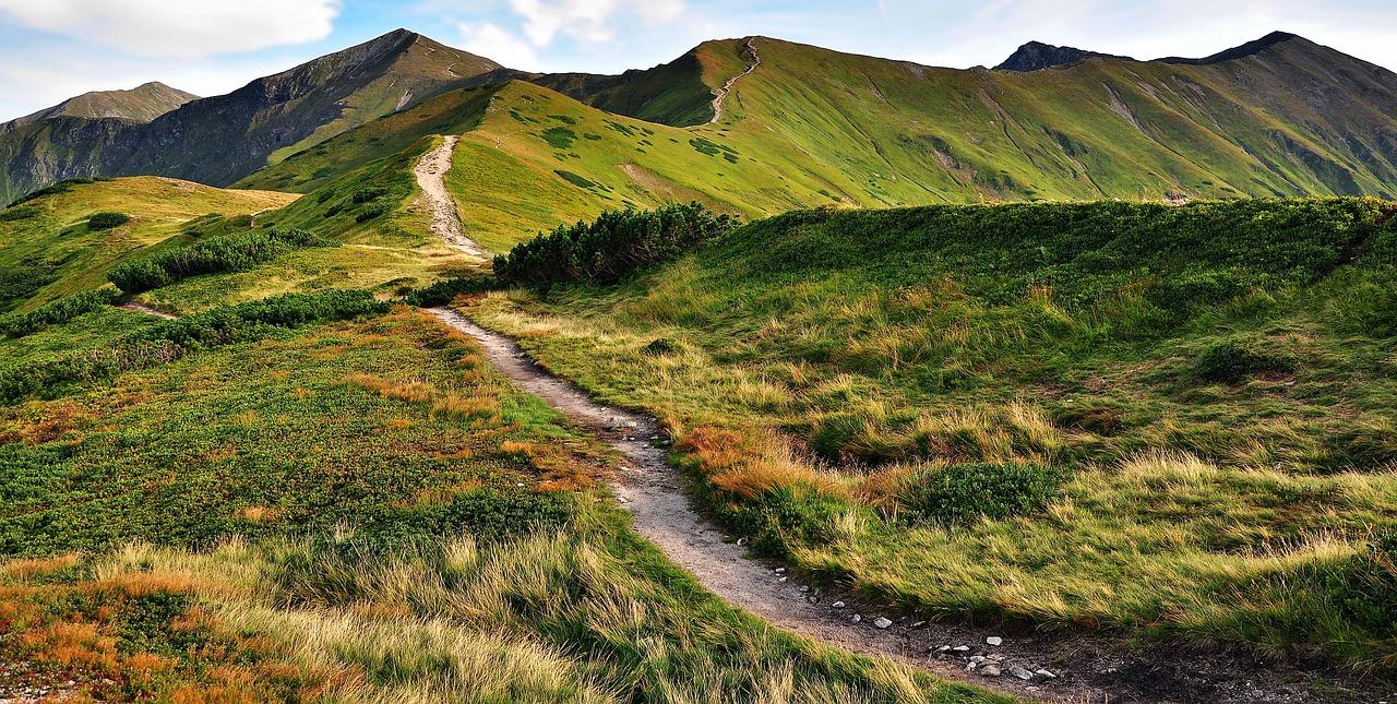 Najpiękniejsze szlaki w tatrach słowackich czyli Tatry widoczne z drugiej strony