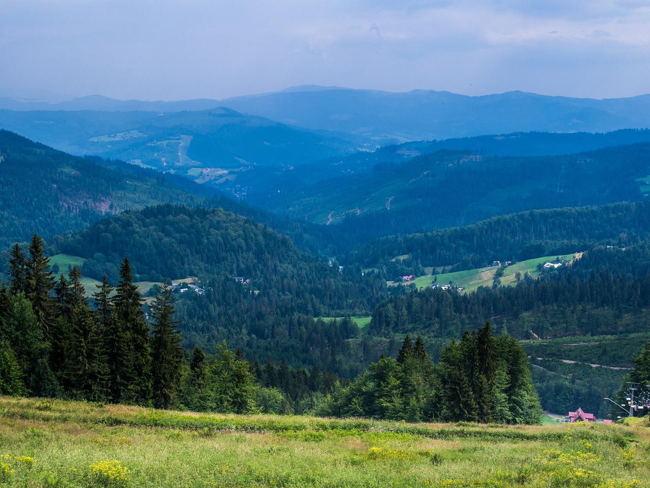 Atrakcje i szlaki turystyczne południowej Polski. Szlaki turystyczne w pobliżu Wisły