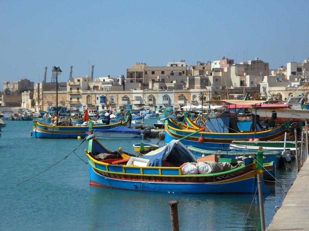 Malta co warto zobaczyć: Marsaxlokk