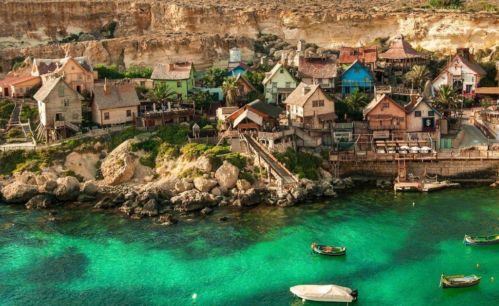 Malta co warto zobaczyć - wioska Popeye